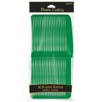 Festive Green Knives - 12 PKG/20