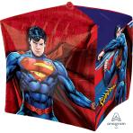 """Superman Cubez Foil Balloons 15""""/38cm G40 - 5 PC"""