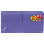 New Purple luncheon Napkins 33cm - 6 PKG/125