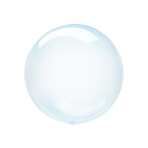 "Crystal Clearz Petite Blue Packaged Balloons 12""/30cm S15 - 5 PC"