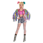 Harley Quinn Birds of Prey Costume - Size 16-18 - 1 PC