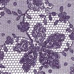 Violet Lace Luncheon Napkins- 10 PKG/20