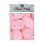 Pink Fabric Rose Flower Petals Confetti 5 cm - 6 PKG/300