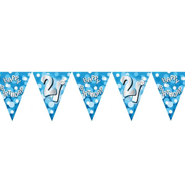Happy 21st Birthday Flag Banner - 4m 10 PKG : Amscan ...