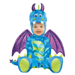Baby Little Dragon Costume - Age 12-18 Months - 1 PC