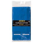 Bright Royal Blue 3-Ply Paper Tablecovers 1.37m x 2.74m - 6 PC