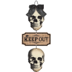 Boneyard MDF Keep Out Sign 48cm x 21cm - 12 PC