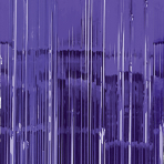 Purple Door Curtain 91cm x 2.43m - 6 PC