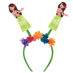 Hawaiian Hula Girl Head Boppers - 8 PC