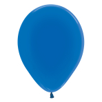 """Crystal Solid Blue 340 Latex Balloons 5""""/13cm - 100 PC"""