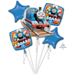 Thomas The Tank Engine Foil Balloon Bouquets P75- 3 PC