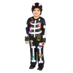 Peppa Pig Skeleton Costume - 3-4 Years - 1 PC