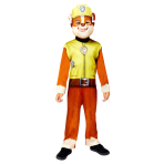 Paw Patrol Rubble Costume - Age 3-4 Years- 1 PC
