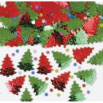 Christmas Tree Embossed Metallic Mix 14g - 12 PC