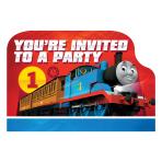 Thomas & Friends Postcard Invitations - 6 PKG/8