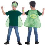 PK Masks Gekko Cape Set - Age 4-8 Years - 1 PC