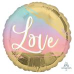 Sunset Love Standard Foil Balloons S40 - 5 PC