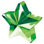Green Star Balloon Weights 150g/5oz - 12 PC