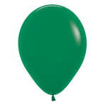 """Fashion Colour Solid Forest Green 032 Latex Balloons 5""""/13cm - 100 PC"""