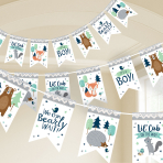 Bear-ly Wait Pennant Banners 4.57m - 12 PC