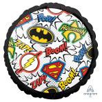 Justice League Standard HX Foil Balloons S60 - 5 PC