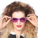 Retro Purple Sunglasses - 1 PC