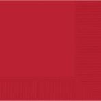 Apple Red Dinner Napkins 40cm 3ply - 12 PKG/20