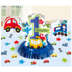 All Aboard Birthday Table Decorating Kits - 6 PKG/4