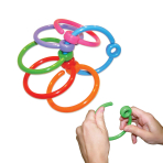 Plastic Hook Ring Weights 10g - 96 PC