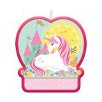 Magical Unicorn Candles 6cm x 6.6cm - 12 PC