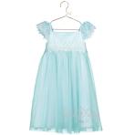 Elsa Aqua Lace Smock Dress - Age 2-3 Years - 1 PC