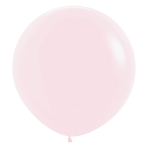 "Pastel Matte Solid Pink 609 Latex Balloons 24""/60cm - 3 PC"