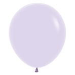 """Pastel Matte Solid Lilac 650 Latex Balloons 18""""/45cm - 25 PC"""