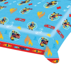 Fireman Sam Plastic Tablecover 1.2m x 1.8m - 10 PC