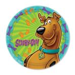 Scooby Doo Paper Plates 23cm - 6 PKG/8