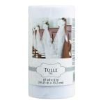 Tulle Spool White 59.4m x 15cm - 2 PC