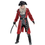 Zombie Pirate Costume - Size Standard - 1 PC