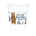 Bear-ly Wait Plastic Cups 473ml - 6 PKG/25