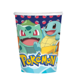 Pokémon Paper Cups 250ml - 6 PKG/8
