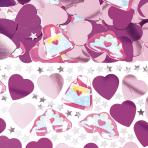 Princess Prismatic Printed Confetti Mix   -12 PC