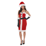 Adults Jolly Holly Costume - Size 10-12 - 1 PC