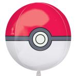 "Pokémon Poké Ball Orbz Foil Balloons 15""/38cm w x 16""/40cm h G40 - 5 PC"