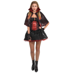 Dark Vamp Costume - Size 10-12 - 1 PC
