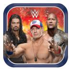 WWE Paper Plates 23cm - 6 PKG/8