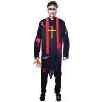 Zombie Vicar Costume - Medium Size - 1 PC