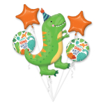 Dino-Mite Party Foil Balloon Bouquets P75 - 3 PC