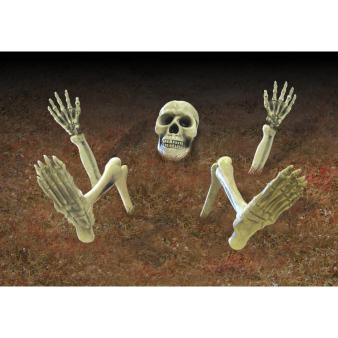 Ground breaker Lawn Skeletons - 3 PKG/9