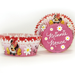 Minnie Mouse Cupcake Cases    - 6 PKG/50