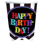 Celebration Happy Birthday Paper Cups 266ml - 6 PKG/8
