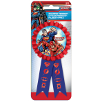 Justice League Confetti Award Ribbons - 6 PC